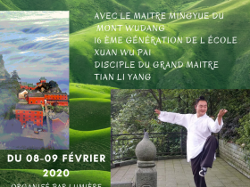 Affiche stage qi gong
